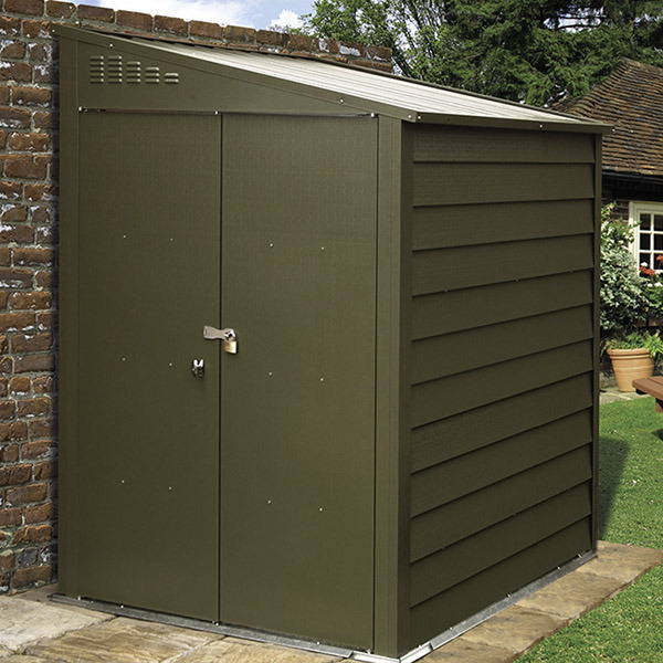 High security sheds bespoke metal sheds from trimetals for Garden shed security