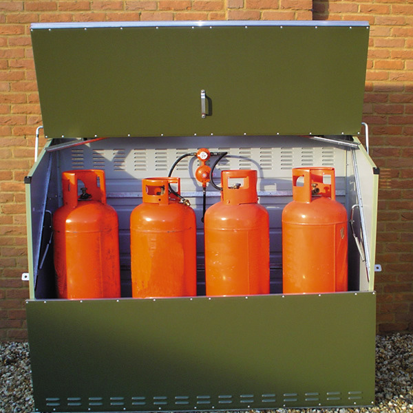 Gas Cylinder Storage and Housing Units for 19-47kg LPG bottles