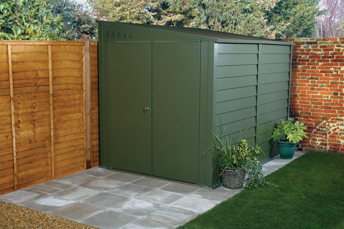 titan 900 garden shed range metal sheds from trimetals. Black Bedroom Furniture Sets. Home Design Ideas