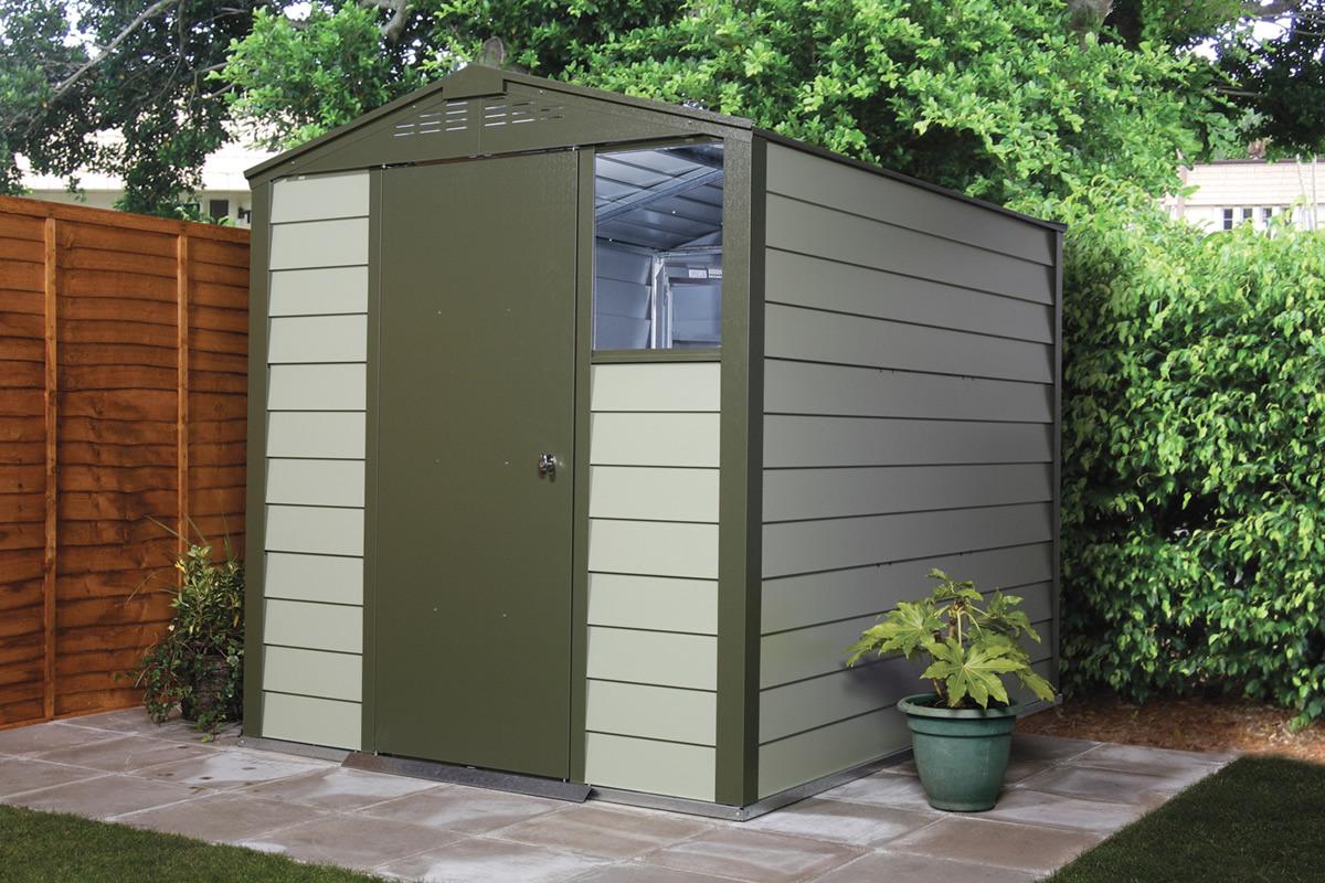 titan 600 garden shed range metal sheds from trimetals. Black Bedroom Furniture Sets. Home Design Ideas