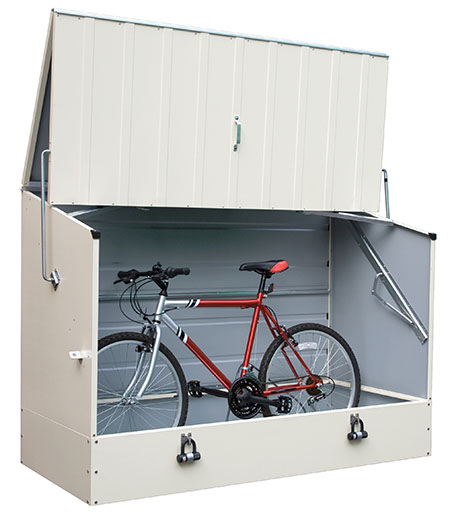 Metal Bike Storage - Protect a Cycle