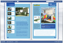 Page Turning Mobile Storage Brochure