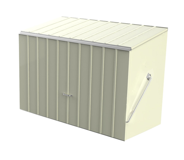 Bike Sheds And Metal Garden Storage Units From Trimetals Uk