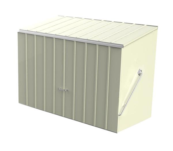 Choose your Metal Storage Solution Bike sheds and metal garden storage units from Trimetals UK. Outside Storage Bins Uk. Home Design Ideas