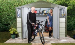 garden sheds are versatile