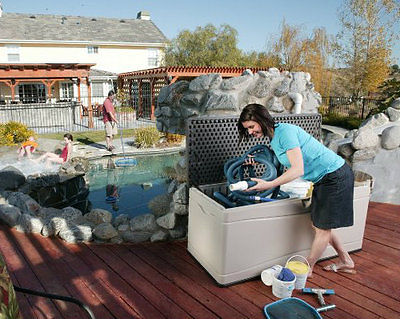 Swimming Pool Equipment Storage Find The Best For You