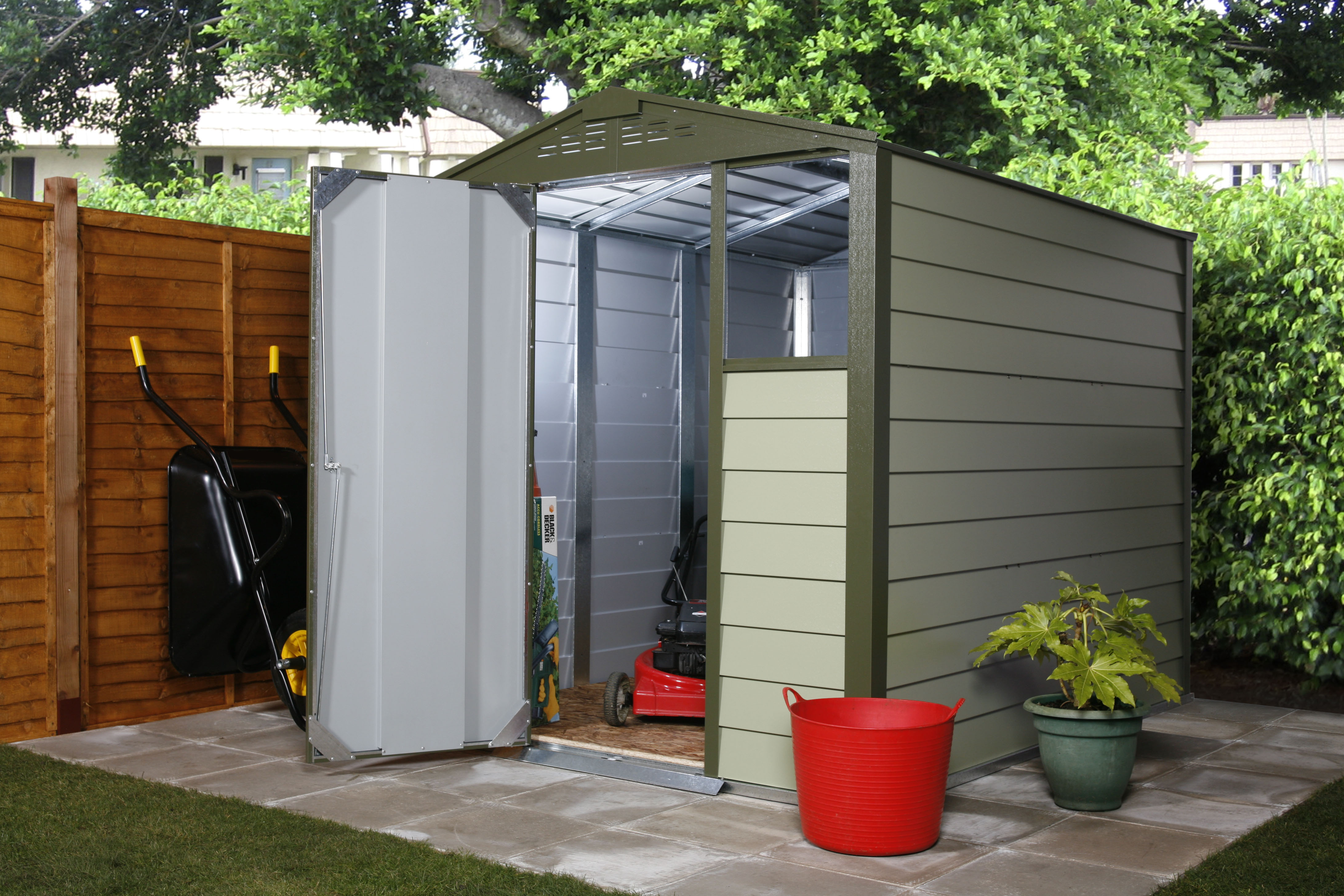 garages work offers tuff parker shacks sheds area photos shed cabins huts up golf studios and for businessden in store concession