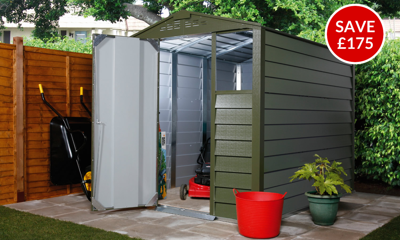 Titan 660 - Green Garden Shed